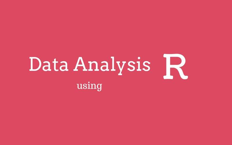 Data Analysis using R