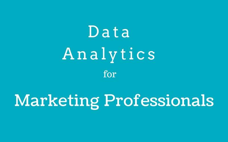 best data analytics for marketing professionals training in bangalore
