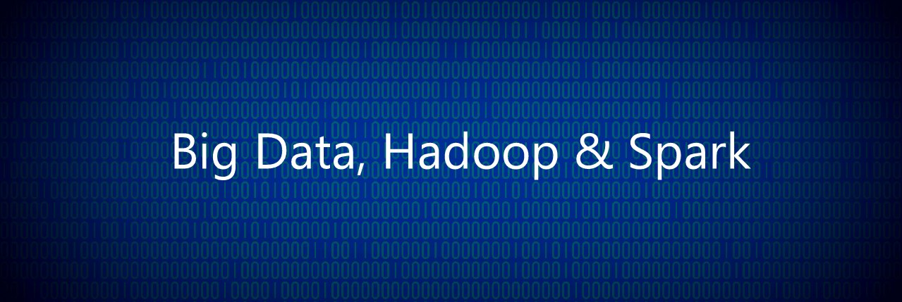 big data hadop and spark