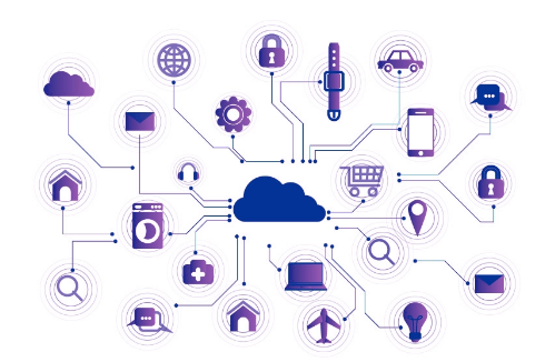 Internet of Things Network Illustration