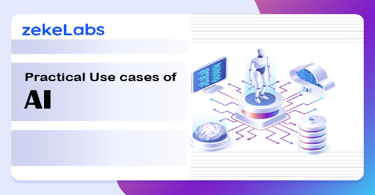 Practical use cases of AI in Business - Banner Image