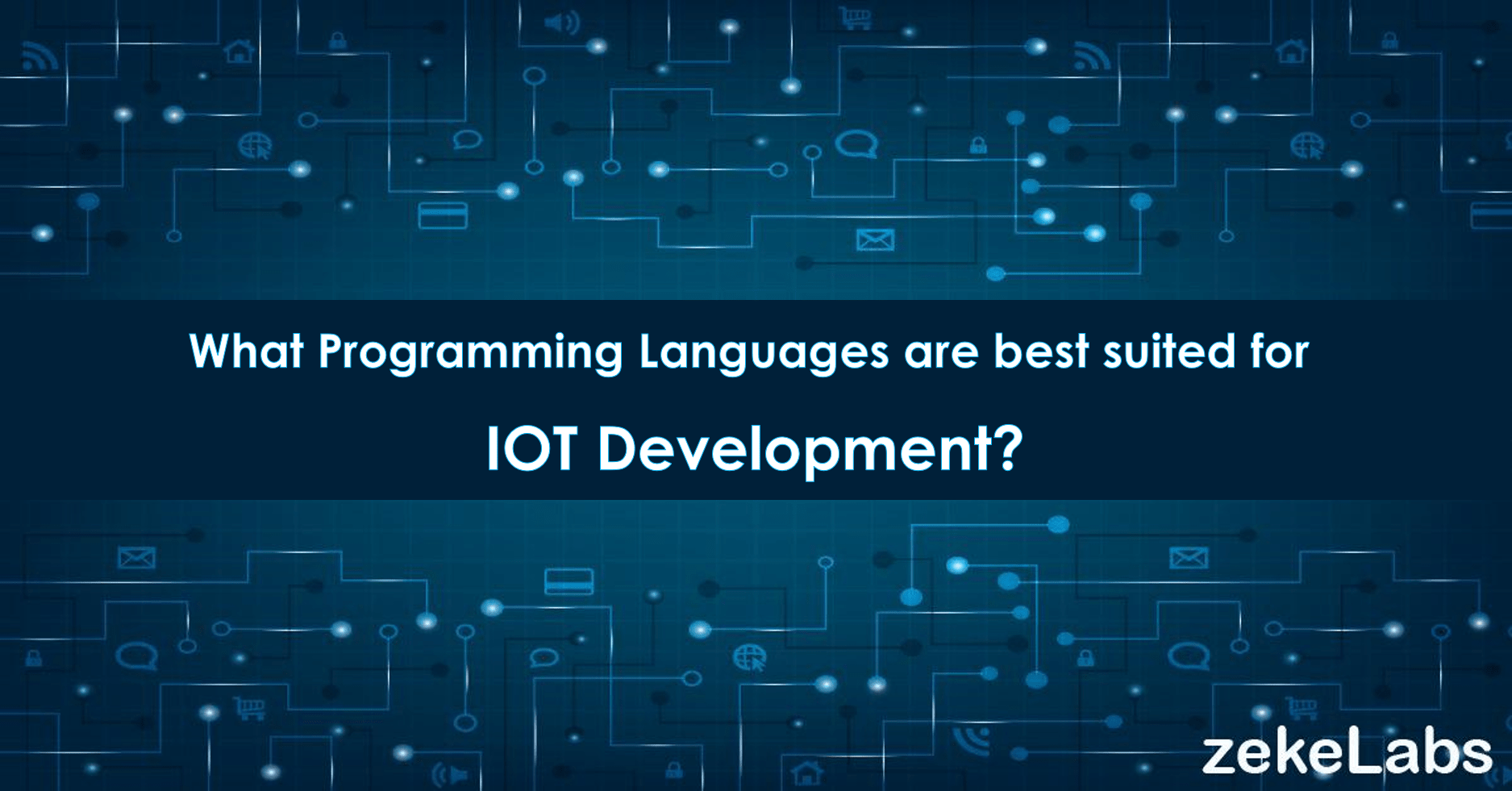 Which programming languages are best suited for IoT development? - Banner Image